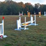 Grass Jumping Field