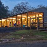 Hickory Hills Barn at Twilight